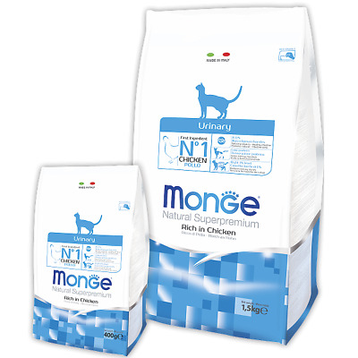 Monge Urinary gatto - 2 x 1,5kg