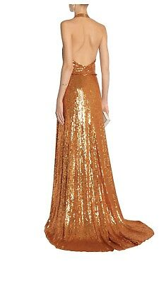 4528abc9bbc3 $5 000 Jenny Packham Runaway Haute Couture Silk Evening Gown Dress Uk 10 Us  6
