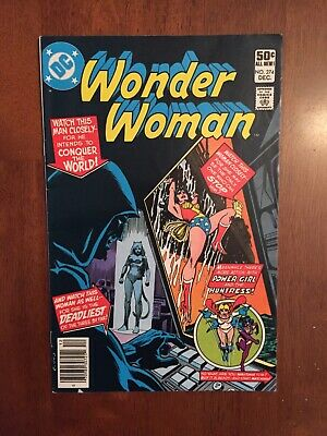 Wonder Woman #274 (Dec, 1980 DC) * 1st app. 2nd Cheetah | Key * VF-