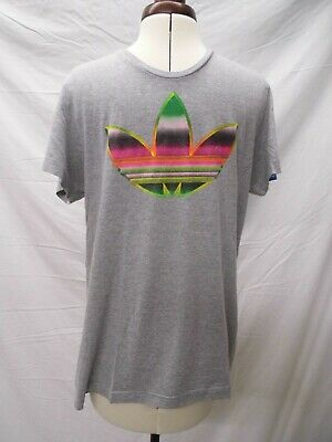 a8bb4538d Genuine Vintage Men s 80s 90s Adidas Grey T-Shirt Size ...