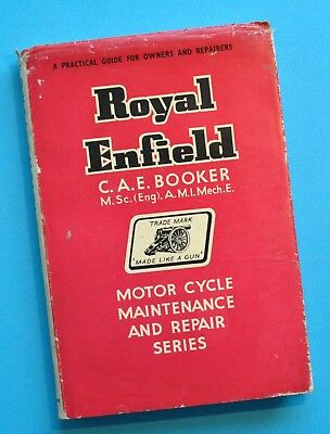 1937-60 Royal Enfield Motorcycles Service Manual Book Bullet Meteor Clipper 125