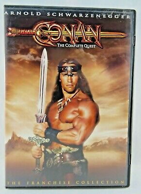 Conan The Complete Quest DVD, 2004, Single Disc, 2 Movies; Barbarian & Destroyer
