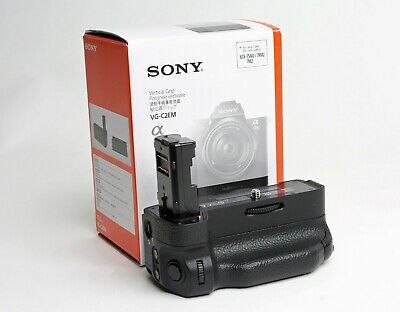 Sony VG-C2EM Vertical Battery Grip (A7II A7RII A7SII) Excellent