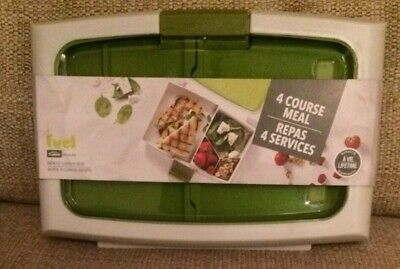 4 Course Meal Fuel Maison Bento Lunch Box New/Unopened Trudeau