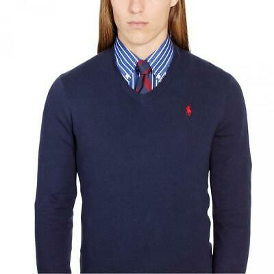 305eebfed1e PULL COL V Polo Ralph Lauren Sweater Homme Man - Slim Fit S Small ...