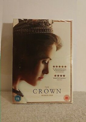 ***BRAND NEW SEALED*** The Crown: Season One (Box Set Edition) [DVD]