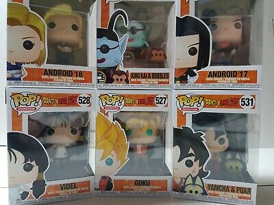Dragon Ball Z Funko Pop Figures Brand New -YOU PICK FROM LIST
