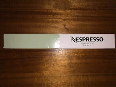 ~* New Nespresso Variations Paris Macaron Coffee Sleeve Limited Edition RARE *~
