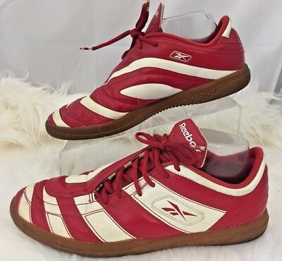 b015ab8a532e Reebok Club Deportivo Guadalajara Chivas Red White Leather Tennis Shoes  Size 8