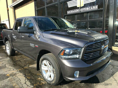 """2015 Ram 1500 4WD Crew Cab 140.5"""" Sport 4WD Crew Cab 140.5"""" Sport 20"""" Wheels  Back Up Camera  Tow Package  Running Board"""