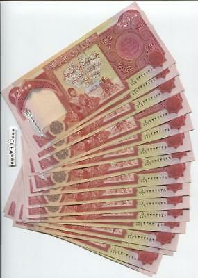 100,000 NEW IRAQI DINAR UNCIRCULATED CURRENCY 4 x 25,000 25000 IQD