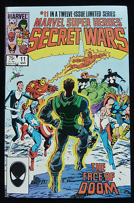 Marvel Super Heroes - SECRET WARS #11 - ... and Dust to Dust! - March 1985
