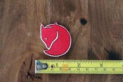 FJALLRAVEN Sew On PATCH Fox RED