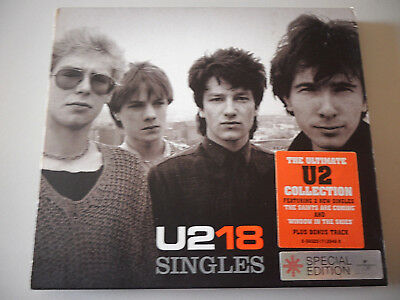 U2 - 18 SINGLES - THE ULTIMATE U2 COLLECTION CD 2006 Universal VERY GOOD CONDIT.