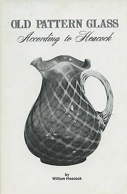 Antique EAPG Pressed Glass - Makers Patterns Tableware Lamps Etc. / Scarce Book