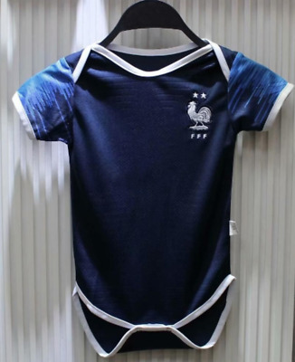2018 World Cup Champion France Argentina Baby 6-18 months Short-Sleeved Shirt