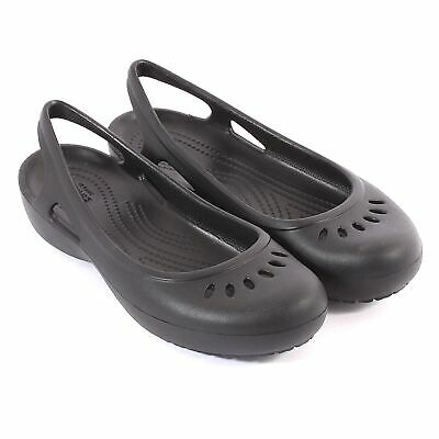 9869812db39 CROCS KADEE SLINGBACK Black (Z16) 205077-001 Womens Clogs All Sizes ...