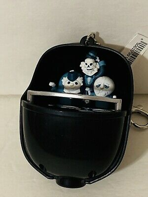 Disney Parks Haunted Mansion Doombuggy Light Up Keychain Hitchhiking Ghosts