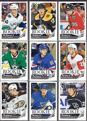 2018-19 Parkhurst Rookie **YOU PICK** Pack Fresh RCs. Couple of Silver Parallels