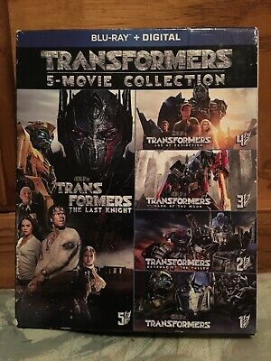 Transformers 5 Movie Collection [Blu-ray] Box Set