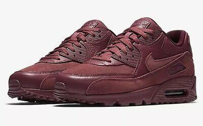 NIKE AIR MAX 90 Premium Vintage Wine 700155 601 SZ 12 NEW IN