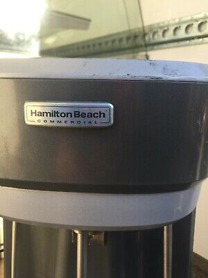 Hamilton Beach Commercial triple spindle drink mixer