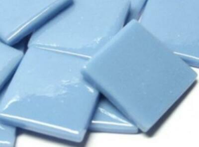 Turquoise Gloss Glass Mosaic Tiles 2.5cm - Art Craft Supplies