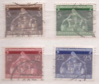 REICH  -  1936  -  COMPLET SET  -  Scott nr 473/476