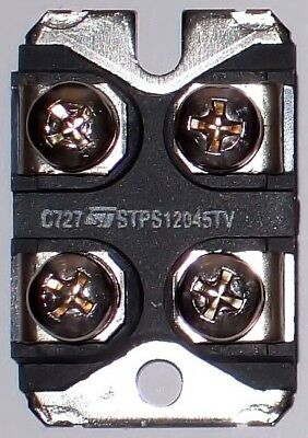 STMicroelectronics STPS12045TV POWER SCHOTTKY RECTIFIER STM STPS 12045 TV DIODE