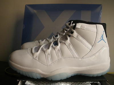 new style 6c822 23878 Nike Air Jordan XI Retro Legend Blue Columbia 378037 117 US 11 UK 10 EU 45