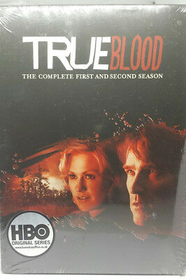 True Blood Complete First & Second Season (10 DVD) NEW Sealed ☆ FREE FASTPOST £5