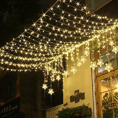 Star Curtain Lights Tofu 8 Function 60 Led 6 6ft Starry