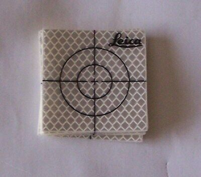 12 Leica Reflective Targets 60 X 60Mm