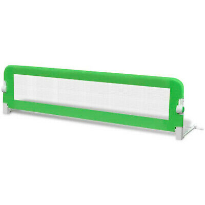 Toddler Safety Bed Rail Guards Baby Protection 150x42cm Green Foldable