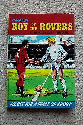Tiger Roy Of The Rovers Annual 1975