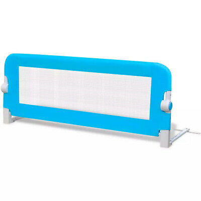 Baby Safety Bed Rail Guards Foldable Toddler Protection 102x42cm Blue