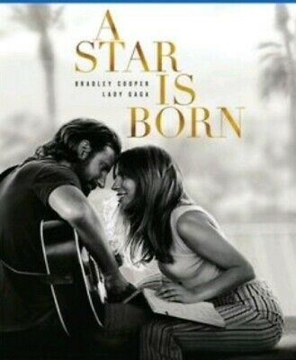A STAR IS Born Blu Ray And Dvd Only ( No Code ) 2019 Opened