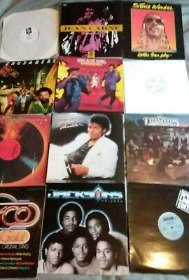 50 x Soul/Motown/Funk/Dance/R&B etc LP & 12'' vinyl collection/job lot some rare