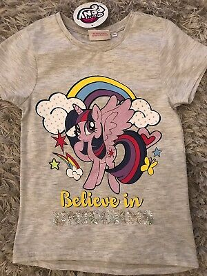 Girls HASBRO MY LITTLE PONY T-Shirt Official Licensed 2-3 years by Primark