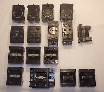 Lot of Misc Vintage Fuse Pull Out Block Sub Main & Range Switch