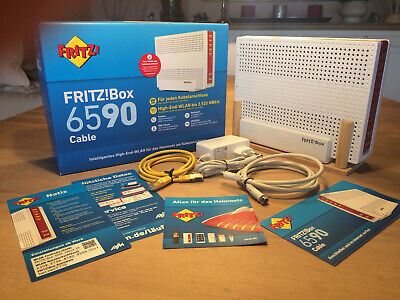AVM Computersysteme Wlan-router Fritz Box6590 Cable