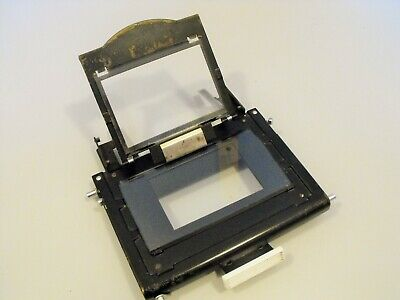 Agfa Varioscop negative holder plain and AN glass