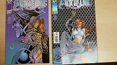 2 WITCHBLADE Comic Books FAST N FREE SHIPMENT