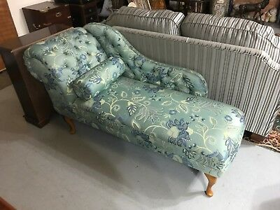 Chaise Lounge in Patterned Fabric - From £1378 - Inadam Furniture