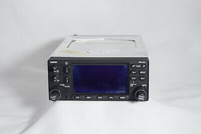 Garmin GNS430W 14/28V PN: 011-01060-40 SN: 97117742 with tray and connectors