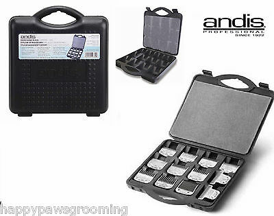 DENTED ANDIS CLIPPER BLADE Protective Storage CASE Tote*Also For Oster,Wahl