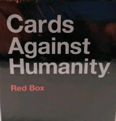 Cards Against Humanity Red Box Edition Brand New In Box Free Shipping