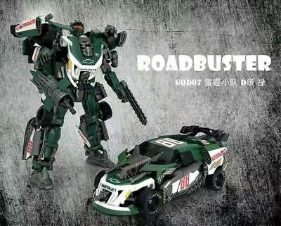 The Wreckers Transformation TF Dream Studio GOD07 Roadbuster Figure New In STOCK