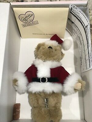 Lovely Annette Funicello Rudy Bear Christmas Collection Limited Edition Bears