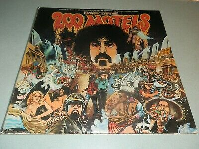 """Frank Zappa's 200 Motels"" 1971 NM Dbl LP + Poster & Book"